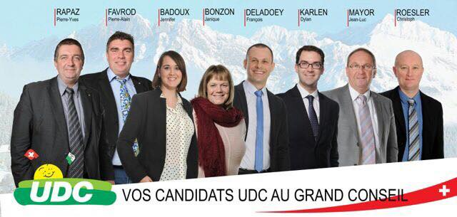 Vos candidats au Grand Conseil