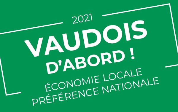 """L'UDC concrétise encore plus ses promesses """"économie locale – préférence nationale"""""""