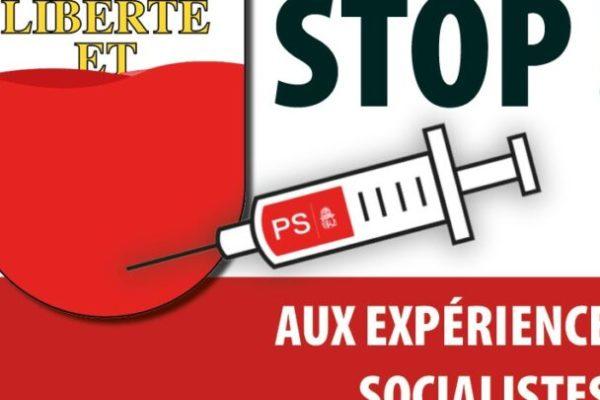 Stop aux expériences socialistes dans le Canton de Vaud